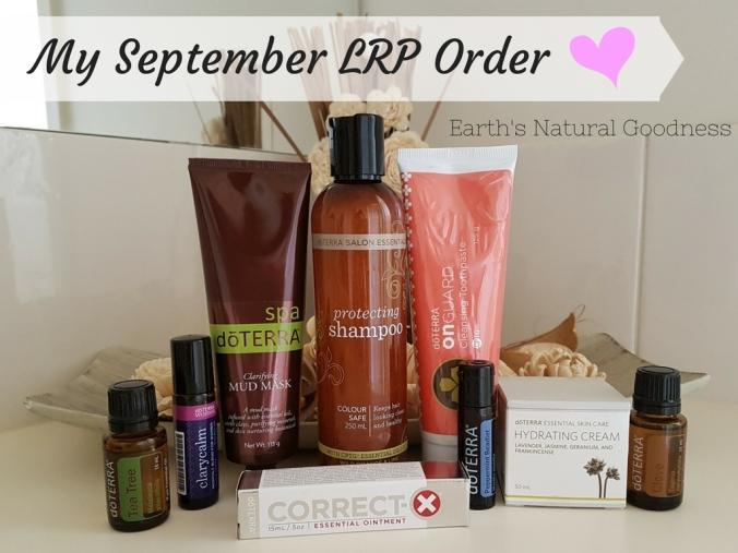 September LRP Order